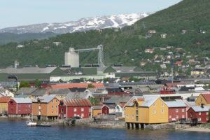 Byen midt i Norge